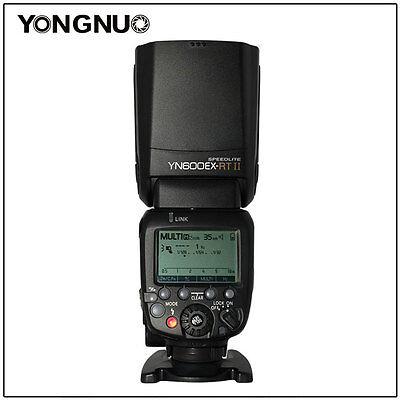 Yongnuo Aufsteckblitz Blitzgerät YN600EX-RT II neue Version HSS E-TTL für Canon