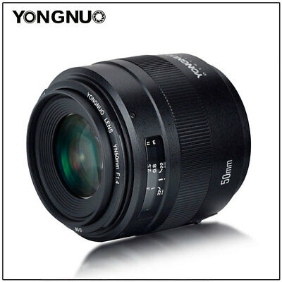 YONGNUO YN EF 50MM F/1.4 Auto & manual Focus Lens For Canon EF Mount EOS Camera