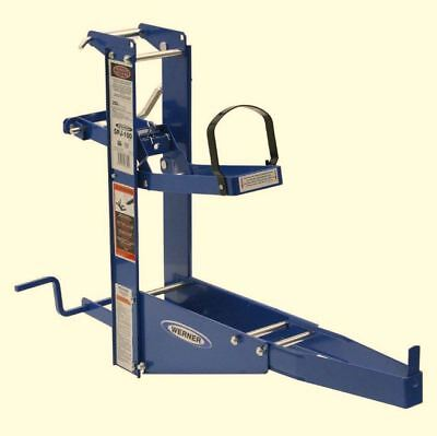 Pump Jack For Up To 24 In Wide Plank Steel Pump Jack W Hand Cranksafety Brake