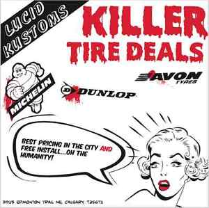 No need to wait for deals on tires.