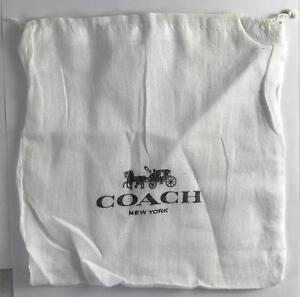 Lot of 2 COACH Drawstring Dust Bag Covers Storage 8