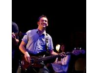 Bass guitar tuition available from former pro bassist!