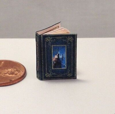 (ENCHANTED CASTLES Miniature Book Dollhouse 1:12 Scale Color Illustrated Book )