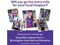We are delighted to be part of the Great Birmingham Run and Birmingham International Marathon!