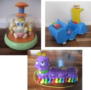 Three Baby/Toddler Growth & Development Toys: Fisher-Price & More Bulli Wollongong Area Preview