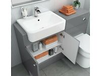 Bathroom Vanity and Concealed Cistern Units