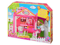 Brand New in Box Barbie Chelsea Clubhouse