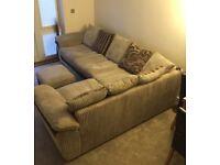 Beautiful nearly new large corner sofa