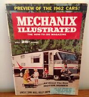 Antique Mechanix Illustrated From 1962