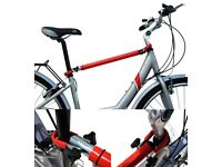 Bicycle Frame Crossbar Adapter ( to enable a bike to be carried on a Cycle Rack )