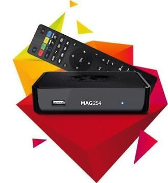MAG 254 IPTV set-top box de klassieke MAG IPTV TV Box