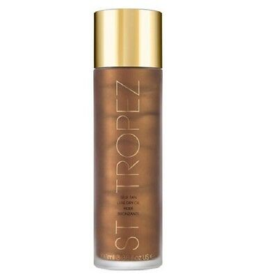 St Tropez Self Tan Luxury Dry Hule Bronzant Oil 100ml