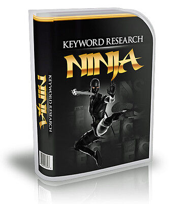 Keyword Research For Hidden Profits And Uncovers Niche Markets New Software  Cd