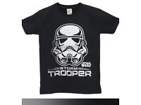 Brand new kids storm trooper top