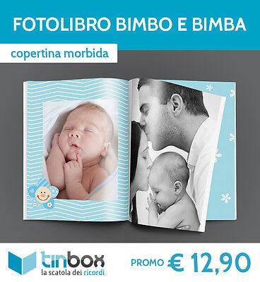 FOTOLIBRO BIMBO e BIMBA f.to A4 - Copertina morbida FOTO ALBUM /FOTOLIBRI TINBOX