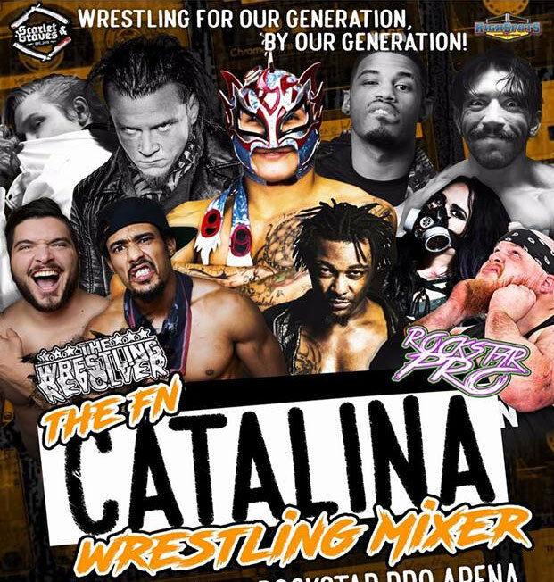 The Wrestling Revolver - The Fn Catalina Wrestling Mixer DVD