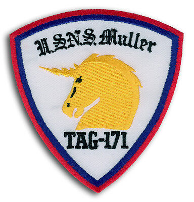 US Navy USNS Muller TAG-171 Technical Research Ship Naval Security Group