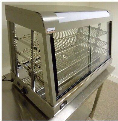 Catering Infernus Heated Display Cabinet Food /Pie/Chicken Warmer Showcase-660mm