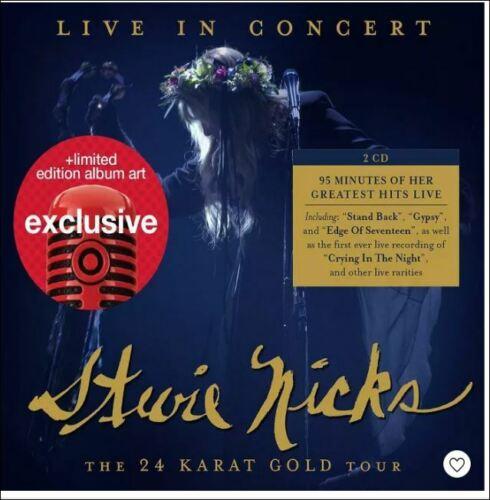 Stevie Nicks Live in Concert: The 24 Karat Gold Tour 2 CD target NEW SEALED