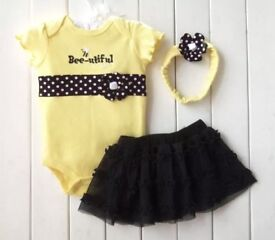 Bed-utiful baby girls outfit