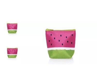 Thirty-One Watermelon Cool Zip Snacker Thermal Snack Bag, NWT - Watermelon Bag