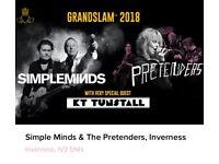 Grandslam Concert (Simple Minds, The Pretenders, KT Tunstall)