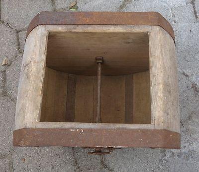 antikes Butterfass Buttermaschine Holz