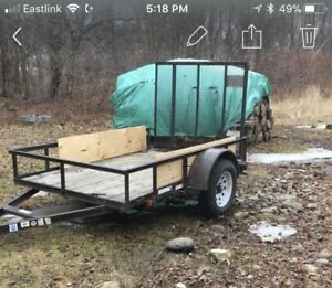 ***REDUCED***2013 arctic cat 550 with 5x8 utility trailer