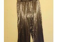 Jolinesse silk pyjama bottoms
