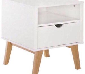 FREEDOM FURNITURE FRIEDA BEDSIDE Chester Hill Bankstown Area Preview