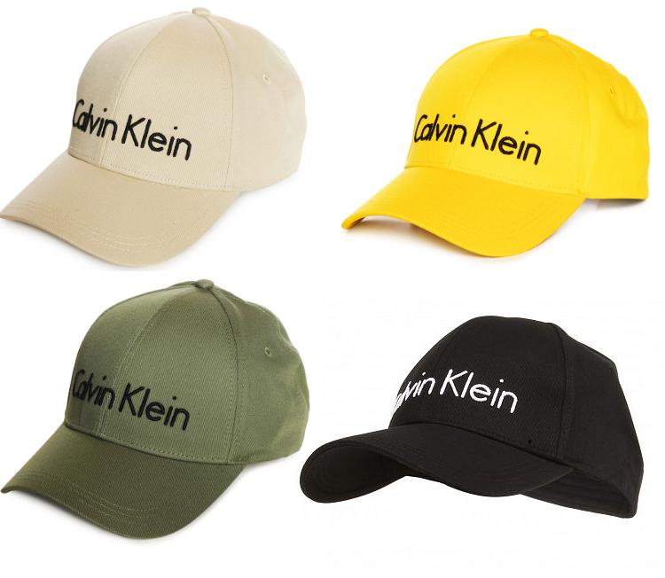 Calvin Klein Cap Ck Kappe Logo Baumwolle Snapback Kopfmütze Damen Herren Unisex