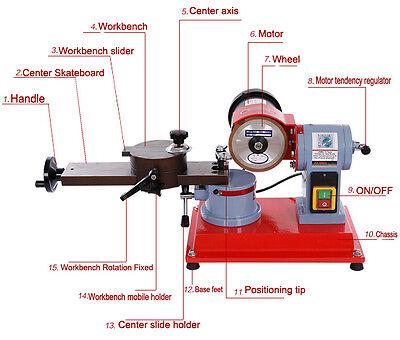 1pcs Round Carbide Sharp Saw Blade Grinder Mill Sharpener