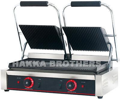 Hakka Commercial Panini Press Grill And Sandwich Sandwich Griddler Tcg-813