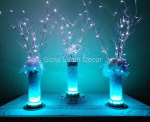 LED Branch table centrepieces, DIY HIRE Woodcroft Morphett Vale Area Preview