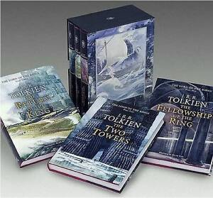 XLG-BOXED-SET-JRR-Tolkien-LORD-OF-THE-RINGS-Alan-Lee-Illus-3-VOLUMES