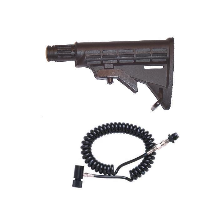 NEW Tippmann Custom 98 Sniper Stock & Coiled Paintball Remote FREE SHIPPING