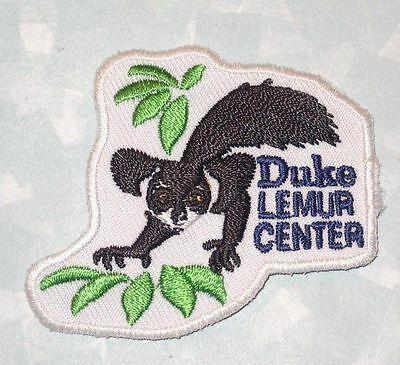 Duke Lemur Center Patch - Travel Souvenir