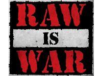 Wwe raw is war DVDs