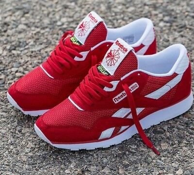 Details about YG x Reebok Classic Nylon '4Hunnid' Kevlar Red 400 Pay Me Size 8.5 Lost Angels