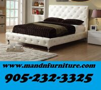 Modern Faux Leather Bed Lowest Prices Guaranteed $349