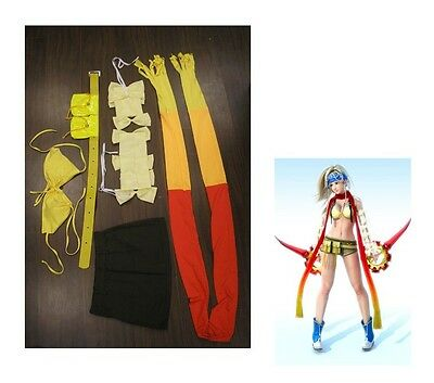 Halloween COMPLETE Rikku Costume Cosplay Final Fantasy X-2 full size