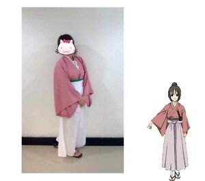 Hakuouki Yukimura Jiziru Chizuru kimono Halloween Costume Complete Cosplay SMALL