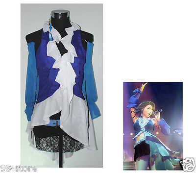 Complete Final Fantasy X-2 Yuna and Lenne Songstress Cosplay Costume