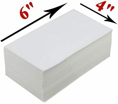 1000pack 4x6 Fanfold Direct Thermal Shipping Labels For Zebra And Rollo Printers