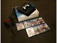PS4 boxed and 7 games