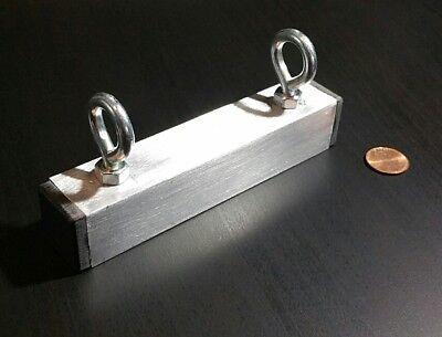 1 Large Neodymium Fishing Magnet Rare Earth Treasure Hunt 5 X 1 Strong 90 Lb