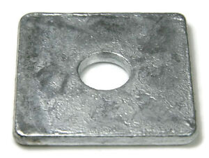 Square Washer Hot Dip Galvanized - 5/8