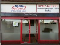 A5 shop, Indian Takeaway EN11, EN8, EN3,EN10,EN7