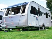 Adria Isonzo 613dt, 4 berth, (2017) Almost New - Excellent condition Touring Caravans for sale