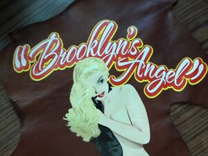 WWII WW2 Style Jacket Iron On Horsehide A-2 B-3 M41 ma-1 N-1 G-1 Nose Art Pin Up